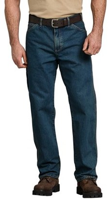 Dickies Men's Relaxed Fit Stonewashed Carpenter Denim Jean