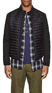 Herno Men's Quilted Tech-Fabric Jacket-Black