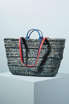 Clare Vivier Woven Le Big Sac Tote Bag