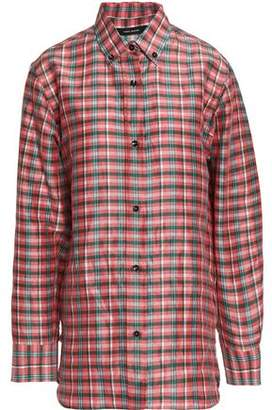 Isabel Marant Woman Manray Checked Poplin Shirt Pink Size 42 Isabel Marant Outlet Looking For Sale Sale Online Outlet Many Kinds Of Pick A Best Free Shipping Enjoy WGAyo9f