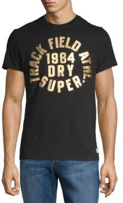 Superdry Trackster Trophy Short-Sleeve Cotton Tee