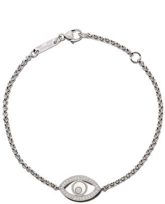 Chopard 18kt white gold Good Luck Charms diamond bracelet