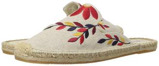 Soludos Embroidered Floral Mule Women's Clog/Mule Shoes