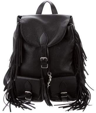 d385830d81 Pre-Owned at TheRealReal · Saint Laurent 2016 Festival Fringe Backpack
