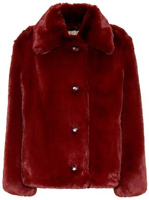 Burberry Faux fur jacket