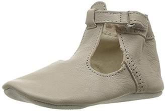 Robeez Girls' T-Strap-First Kicks Crib Shoe