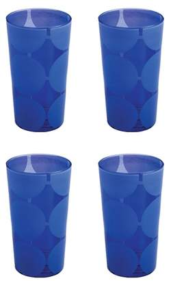 Rosanna Santorini Set of 4 Glass Tumblers