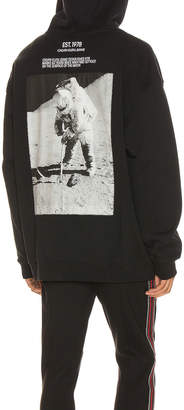 Calvin Klein Est. 1978 Moon Landings Hoodie in Black Beauty | FWRD