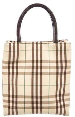 Burberry Mini Nova Check Tote
