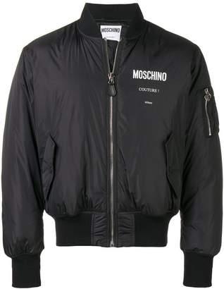 Moschino puffer bomber jacket