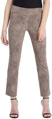 Nic+Zoe Animal-Print Stretch Pants