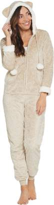 French Jenny Cuddle Critters Hooded Onesie w/ Pockets
