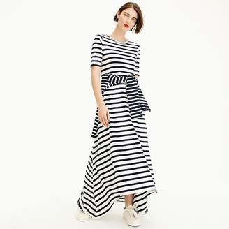 J.Crew Tall striped knit maxi dress