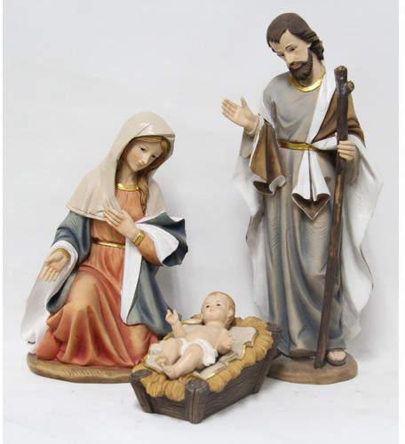 Hi-Line Gift Ltd. 3 Piece Nativity Figurine Set