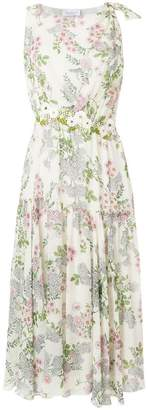 Giambattista Valli floral print midi dress