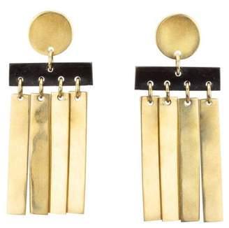 Soko Cala Horn Fringe Stud Earrings