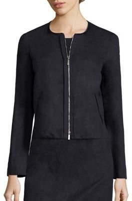Lafayette 148 New York Benton Cropped Jacket $498 thestylecure.com
