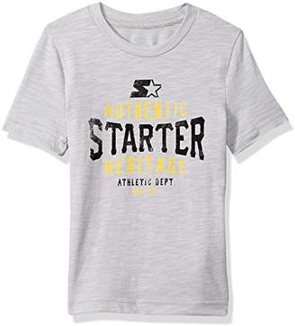 Starter Girls' Short Sleeve Heritage Logo T-Shirt