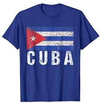 Cuban Flag T-Shirt-Cuba Flag Tee Shirt Gift