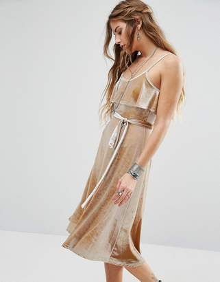 Glamorous Cami Midi Dress Win Luxe Velvet $56 thestylecure.com