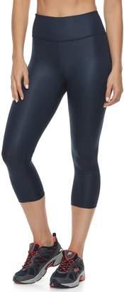 Fila Sport Women's SPORT Shiny High-Waisted Capri Leggings
