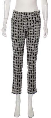 True Royal Patterned Mid-Rise Pants w/ Tags
