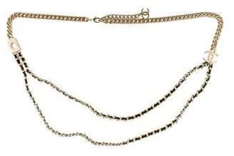 Chanel 2017 Logo Chain Belt w/ Tags