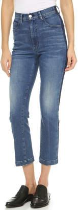 Rachel Comey Cropped Tux Jeans $345 thestylecure.com