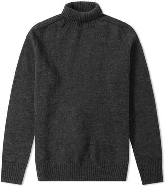 Mhl By Margaret Howell Saddle Sleeve Roll Neck