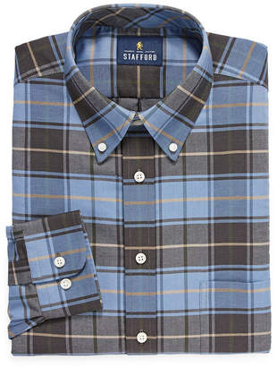 b55983995ee4e STAFFORD Stafford Travel Wrinkle-Free Stretch Oxford Big and Tall Long-Sleeve  Dress Shirt. JCPenney ...