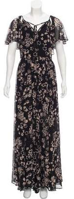 Rebecca Minkoff Floral Print Maxi Dress w/ Tags