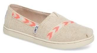 Toms Classic Alpargata Slip-On Sneaker (Toddler, Little Kid, & Big Kid)