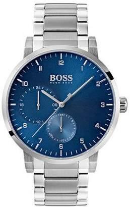 HUGO BOSS Men's Oxygen Analog Bracelet Watch, Blue