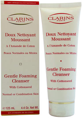 Clarins 4.4Oz Gentle Foaming Cleanser With Cottonseed