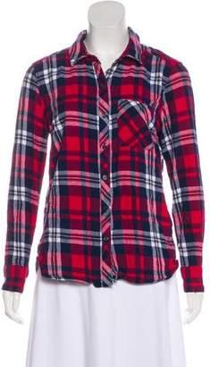 Woolrich Plaid Long Sleeve Top
