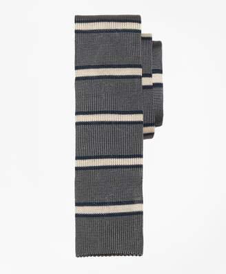 Brooks Brothers Framed Stripe Knit Tie
