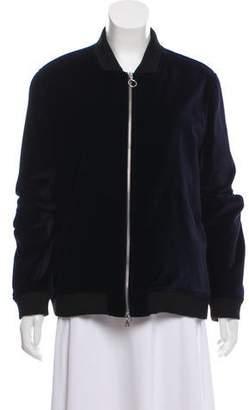 Timo Weiland Velvet Bomber Jacket