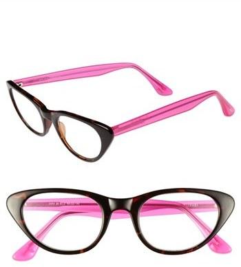 Isaac Mizrahi New York 48mm Cat Eye Reading Glasses
