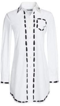 Moschino Top Stitch Shirt Dress