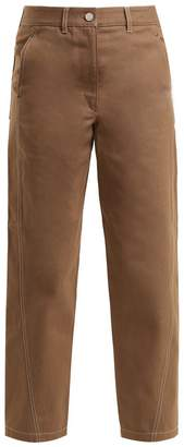 Lemaire Mid-rise straight-leg cropped jeans