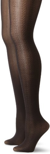 Anne Klein Women's 2 Pack Cable Tights