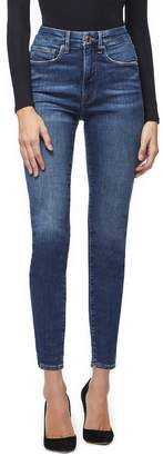 Good American Good Legs High Waist Ankle Skinny Jeans