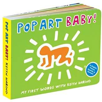 Mudpuppy マッドパピー) キースへリング Keith Haring 4カ国語 しかけ絵本 ポップアートベイビー Pop Art Baby 英語 フランス語 スペイン語 ドイツ語 ボードブック 語学学習