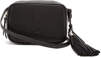 Saint Laurent Lou tassel-embellished leather belt bag