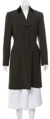 Hermes Wool Knee-Length Coat