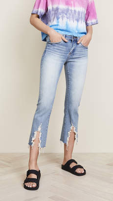 Blank The Varick Cropped Flare Jeans
