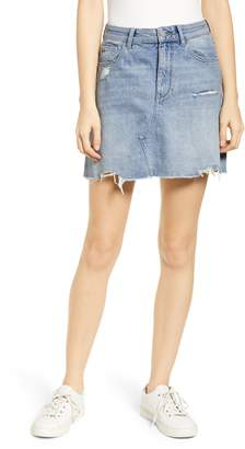 DL1961 Georgia Cutoff Denim Miniskirt