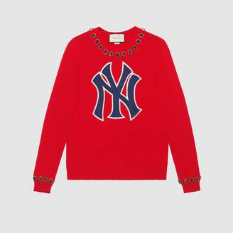 Gucci Wool sweater with NY YankeesTM patch