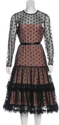 Alexis Sheer Midi Dress