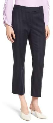 Lewit Chalk Stripe Crop Pants